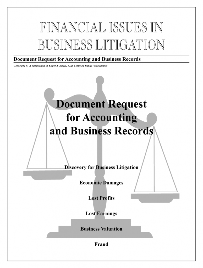 Document Request for Accounting & Business Records