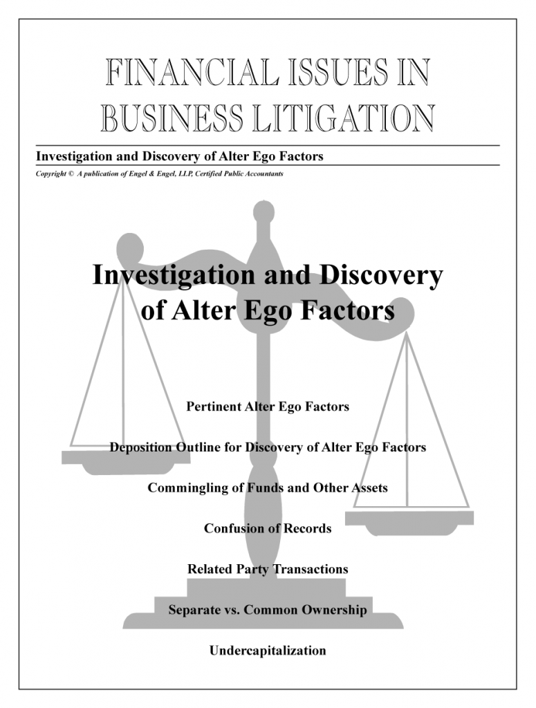 Investigation & Discovery of Alter Ego Factors